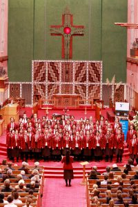 Student director leads way in choral competition Archdiocese of Wellington