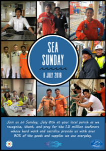 Day of Prayer for Seafarers – Sunday 8 July Archdiocese of Wellington