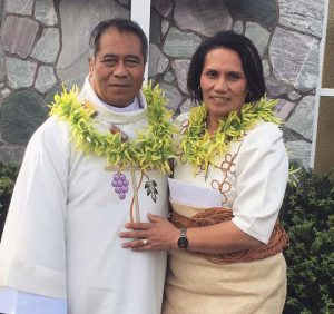 Tongan Hastings parishioner ordained a Deacon Archdiocese of Wellington