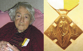 Papal Medal for Taihape's Marie Donovan Archdiocese of Wellington