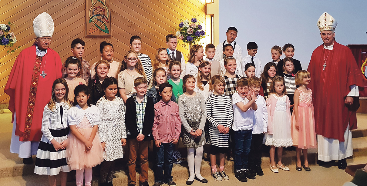 Confirmations for Our Lady of the Bays Archdiocese of Wellington