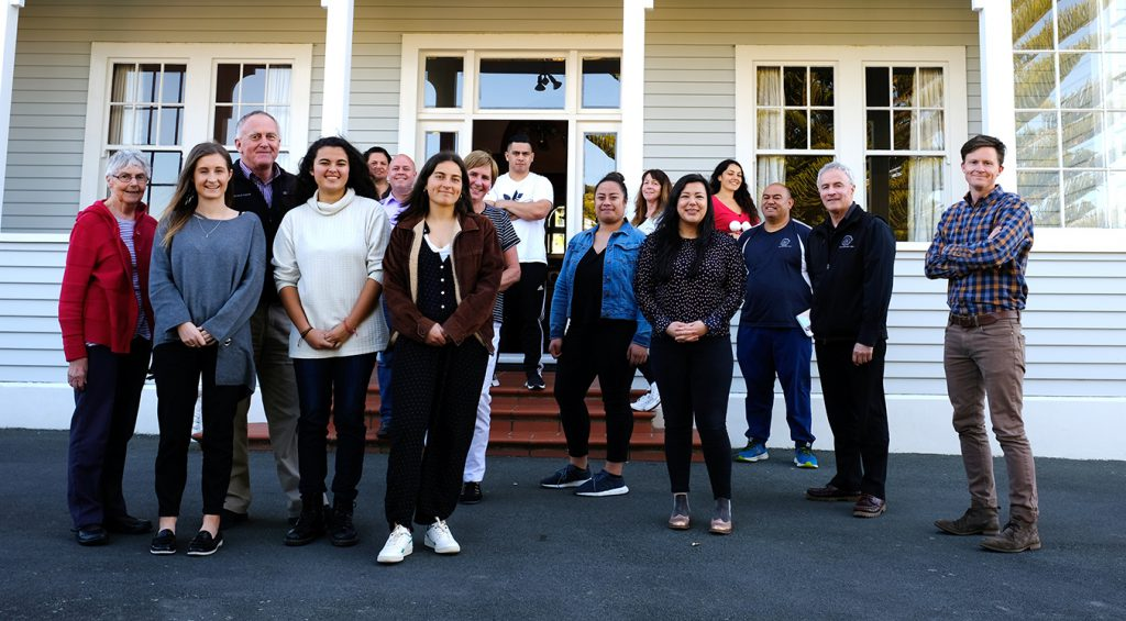 Challenge 2000 family celebrates 30th birthday, October 2018 Archdiocese of Wellington