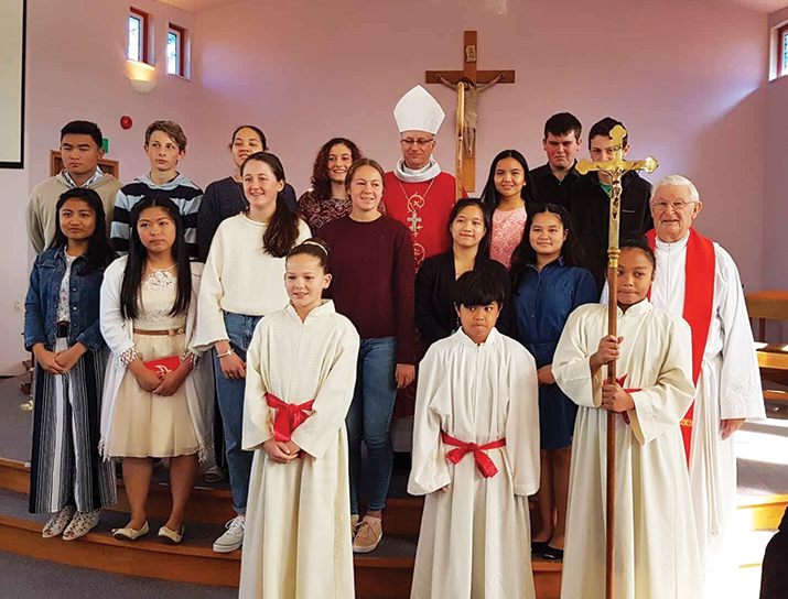 Waipukurau Confirmations Archdiocese of Wellington