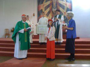 Papal Medal for Wellington Parishioner Archdiocese of Wellington