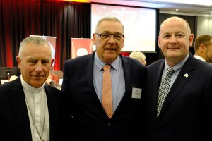 Cardinal's Lunch hosts new Irish Ambassador to New Zealand Archdiocese of Wellington