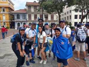 Aotearoa pilgrims join thousands at  2019 World Youth Day in Panama Archdiocese of Wellington