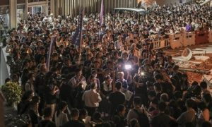 Hong Kong Catholics call for calm Archdiocese of Wellington