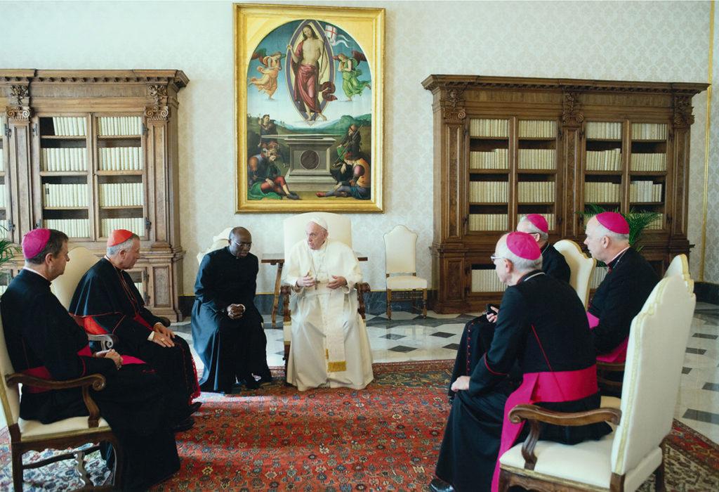 New Zealand Catholic Bishops Meet Pope Archdiocese of Wellington