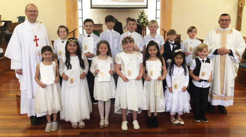First Communions Archdiocese of Wellington