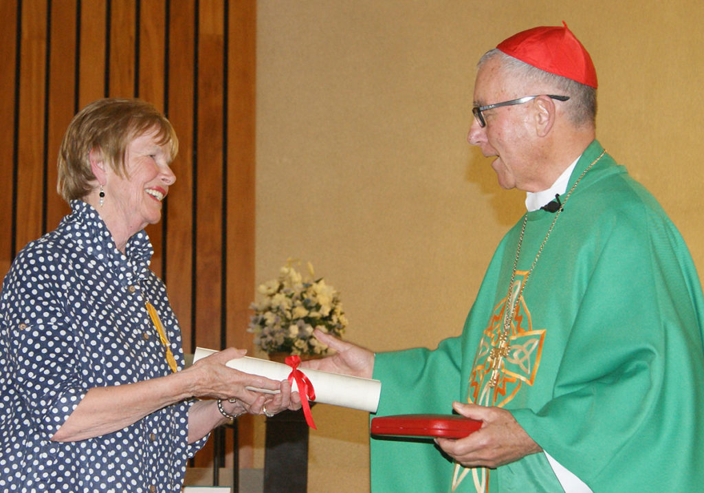 Honouring Joan McFetridge Archdiocese of Wellington