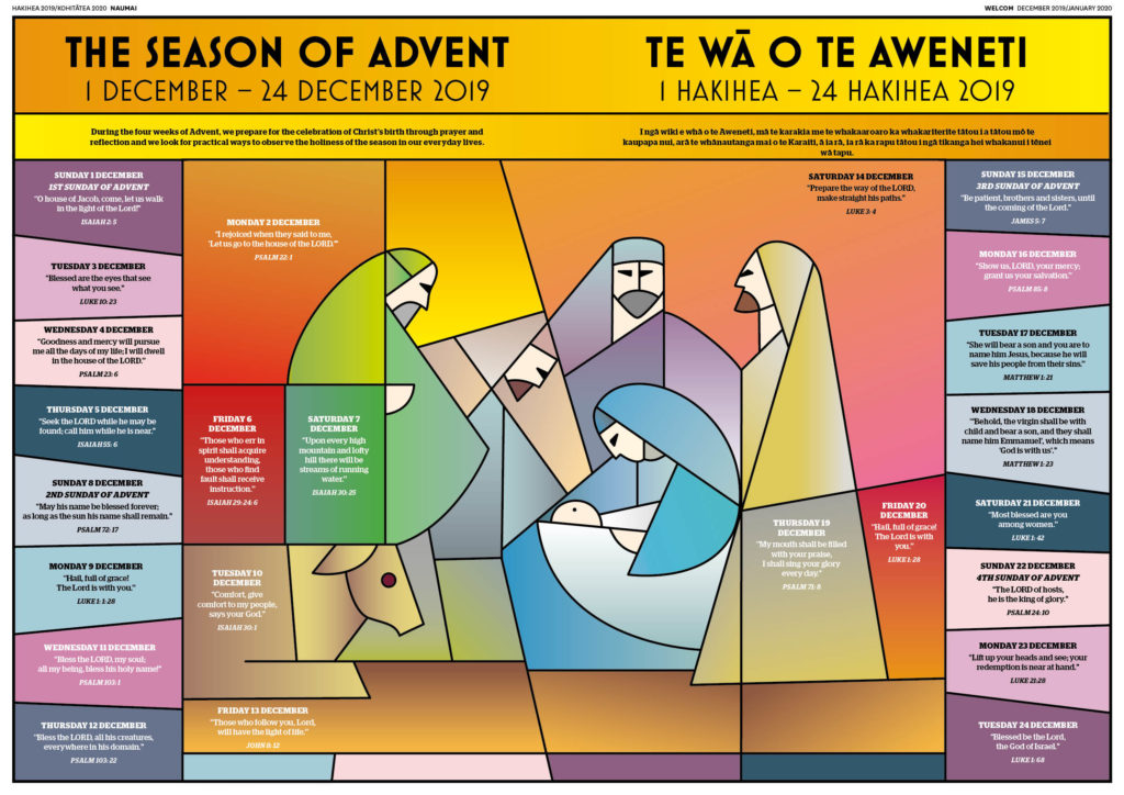 The Season of Advent – Te Wā o te Aweneti Archdiocese of Wellington