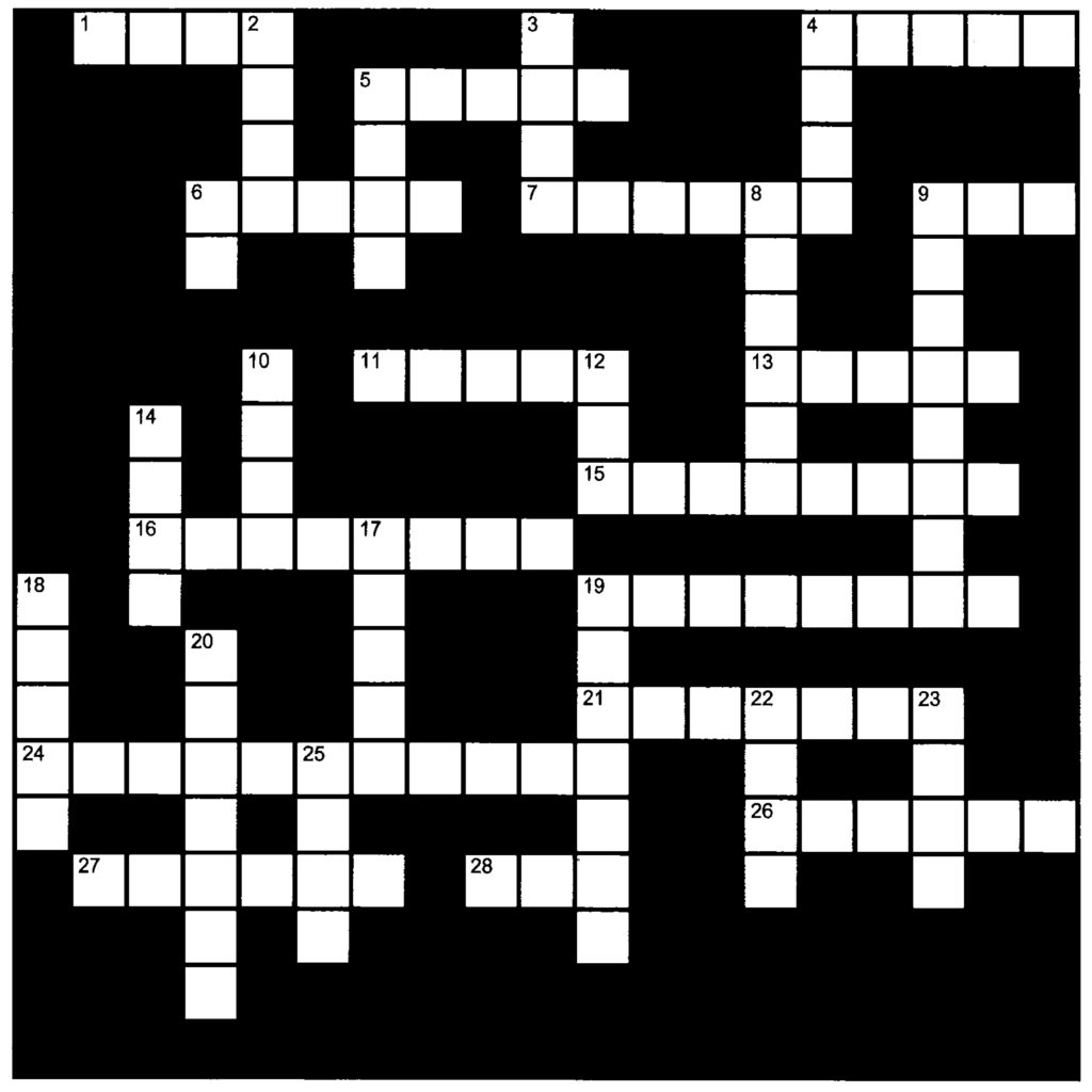 Crossword – The Holy Triduum Archdiocese of Wellington
