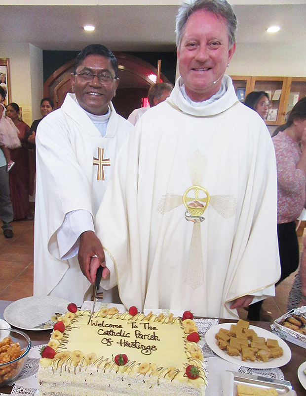 Warm welcome for priests in Hastings Archdiocese of Wellington
