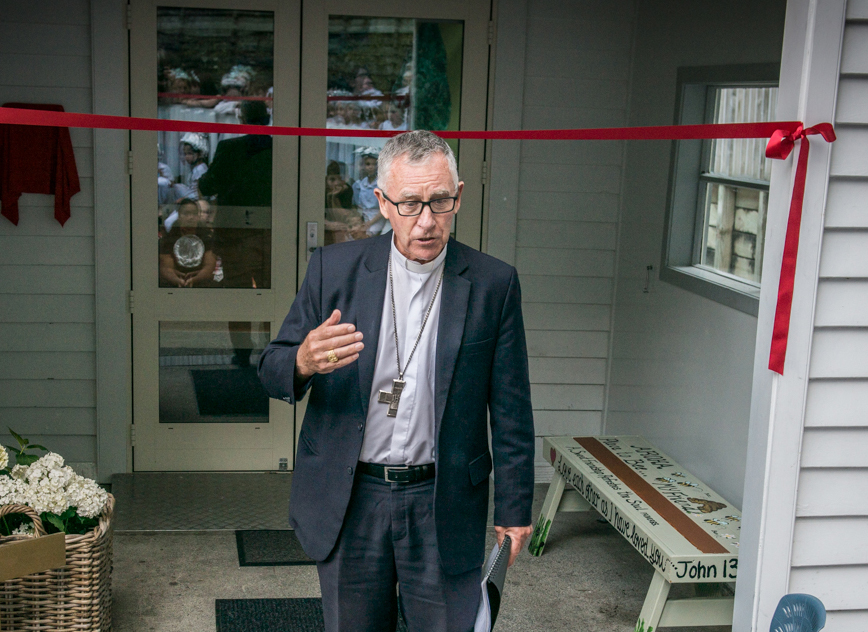 Educational facilities blessed and opened for Wellington Catholic Schools Archdiocese of Wellington
