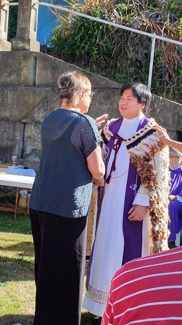 Ōtaki welcome for Pā Dennis Nacorda Archdiocese of Wellington