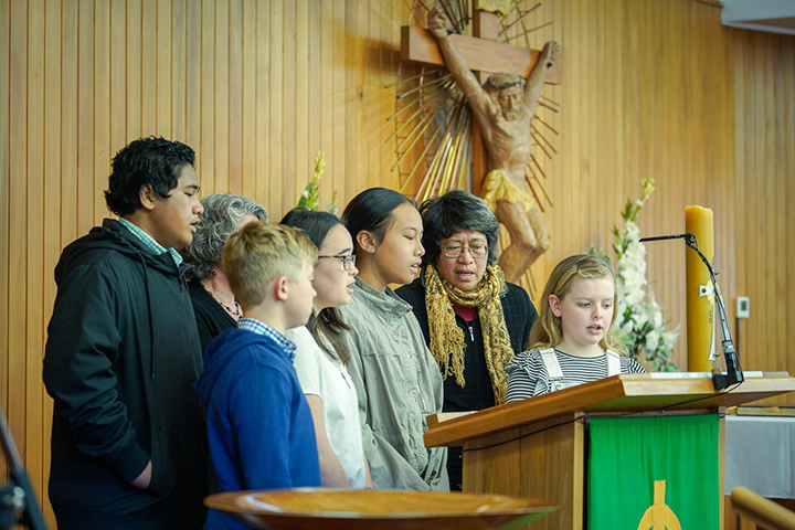 Congratulations to Our Lady of Kāpiti Parish Archdiocese of Wellington