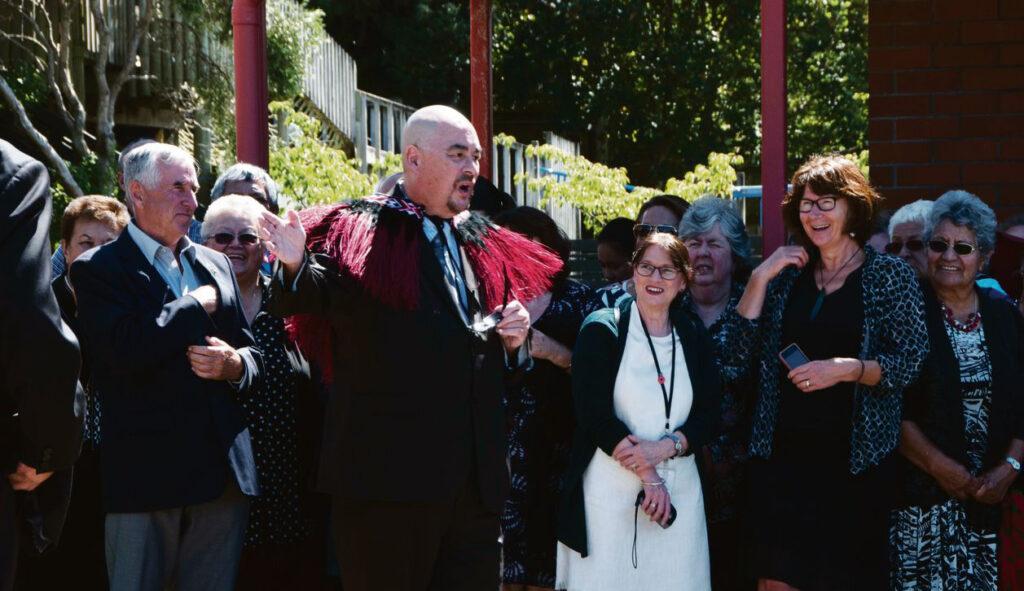 Aunty says, 'Get on with it!' – Nā whāea te kī, 'Kia horo!' Archdiocese of Wellington