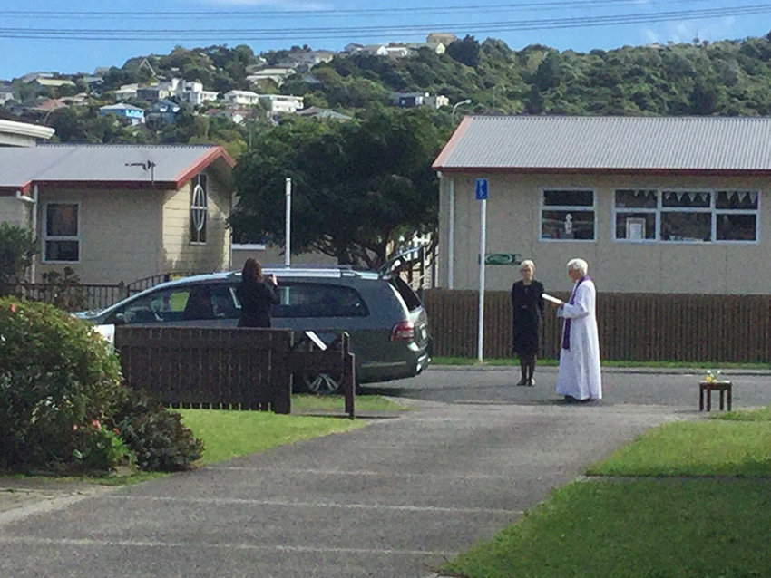Kerbside rites and lockdown soup all part of Catholic work in Covid-19 times Archdiocese of Wellington