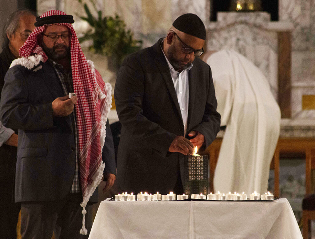 Multi-faith vigil remembers Mosque shooting victims Archdiocese of Wellington