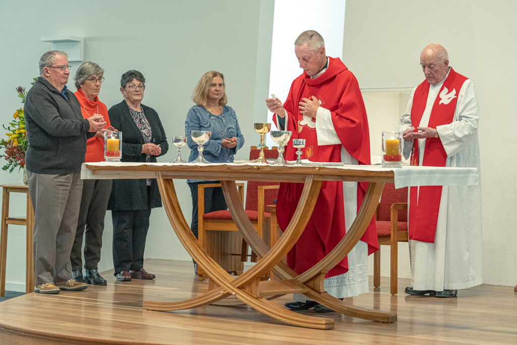 Our Lady of Kāpiti Church – Te Whaea Tapu o Kāpiti  blessing and opening, 30 May 2020 Archdiocese of Wellington