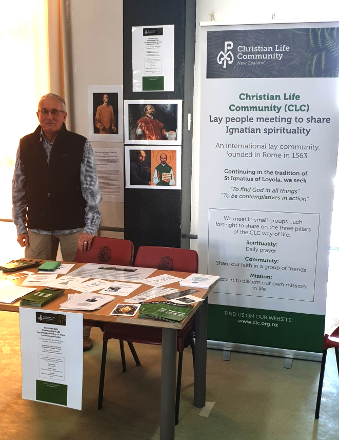 Christian Life Community at Mission Expo Archdiocese of Wellington