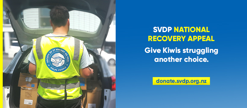 SVDP launches National Recovery Appeal Archdiocese of Wellington