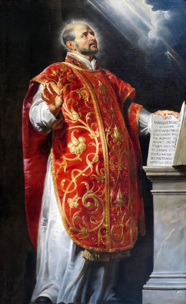 St Ignatius of Loyola sj – Patron Saint of Spiritual Retreats: Feast Day 31 July Archdiocese of Wellington