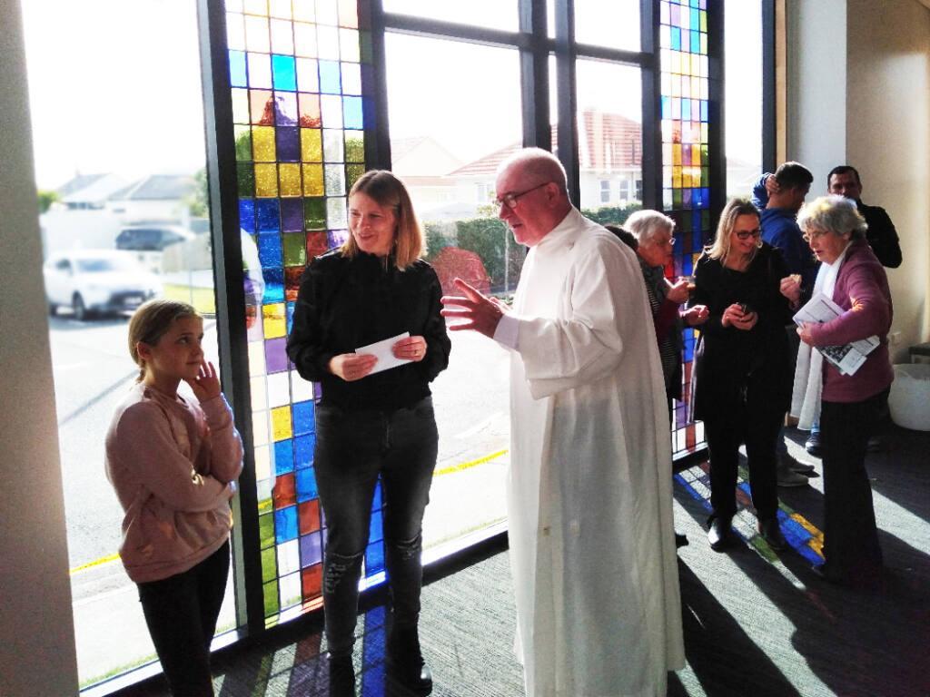 New foyer for Fitzroy church Archdiocese of Wellington