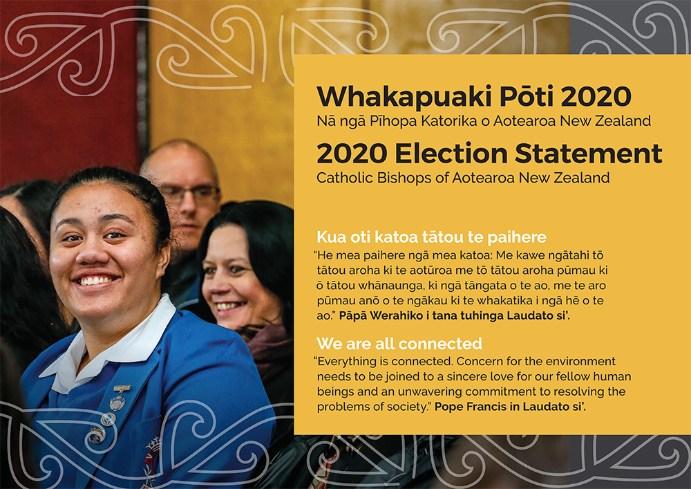 New Zealand Bishops' 2020 Election Statement Archdiocese of Wellington
