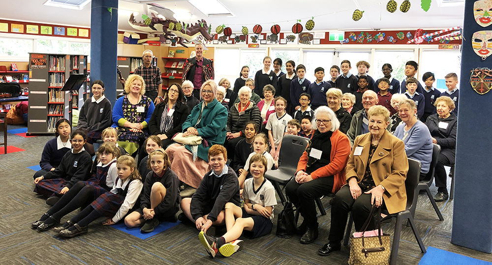 Onslow CWL Visits St Benedict's School Archdiocese of Wellington