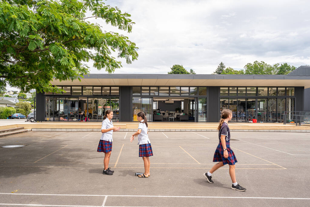 St Joseph's new classrooms win architecture award Archdiocese of Wellington