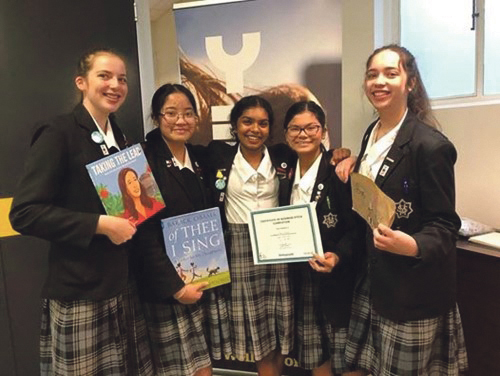 St Mary's College Young Entrepreneurs Archdiocese of Wellington