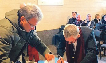 Covenant renewed at unique place within the Catholic Church Archdiocese of Wellington