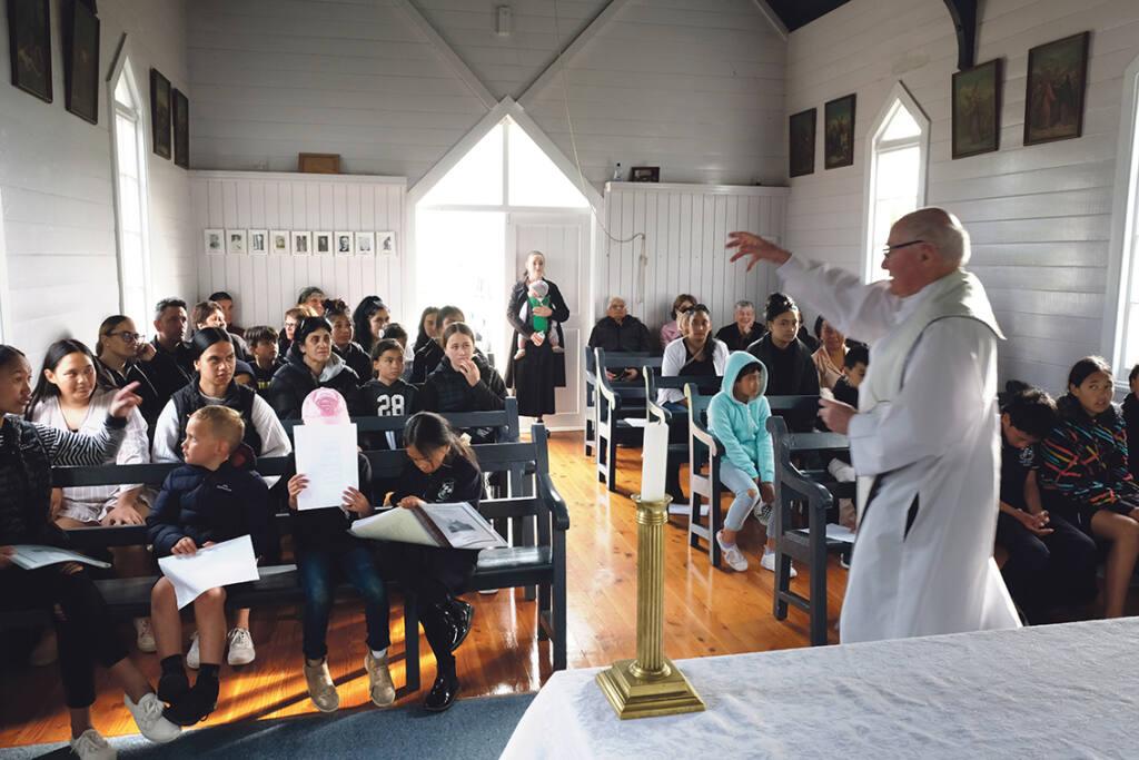 Kauwhata church turns 125 Archdiocese of Wellington
