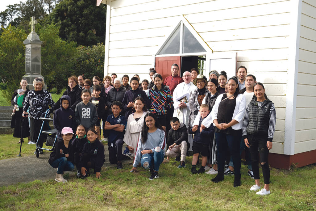 Kauwhata church turns 125 Archdiocese of Wellington