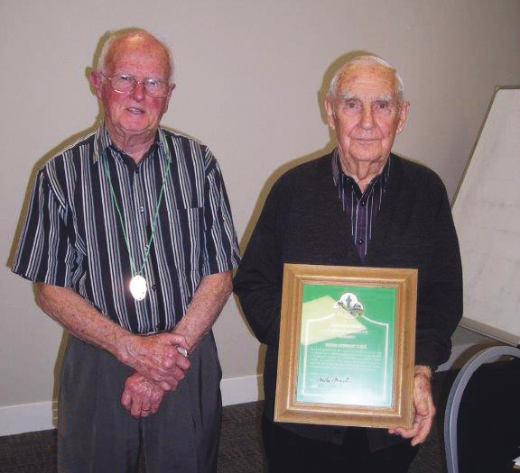 Hibernian stalwart honoured Archdiocese of Wellington