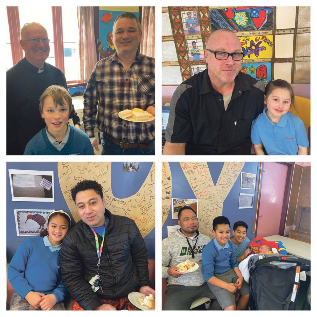 Fathers' Day at St Matthew's School Archdiocese of Wellington