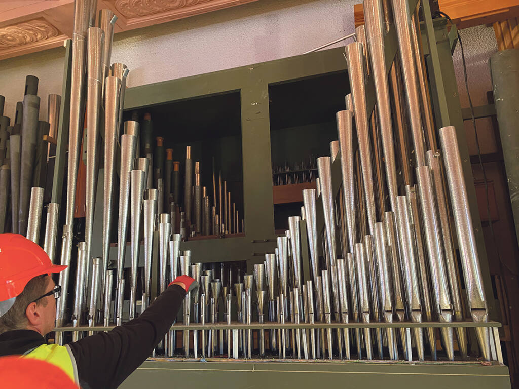 Cathedral column: sea voyage for cathedral organ Archdiocese of Wellington