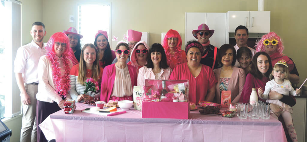 Going 'Pink for a Day' Archdiocese of Wellington