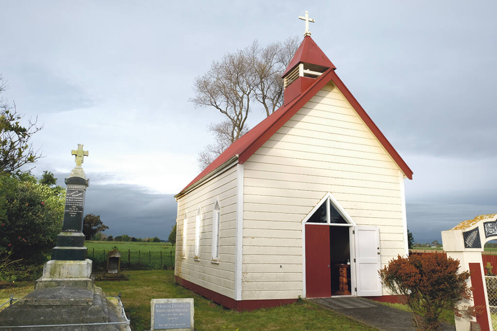 Anniversary Mass at Kauwhata Feilding Archdiocese of Wellington
