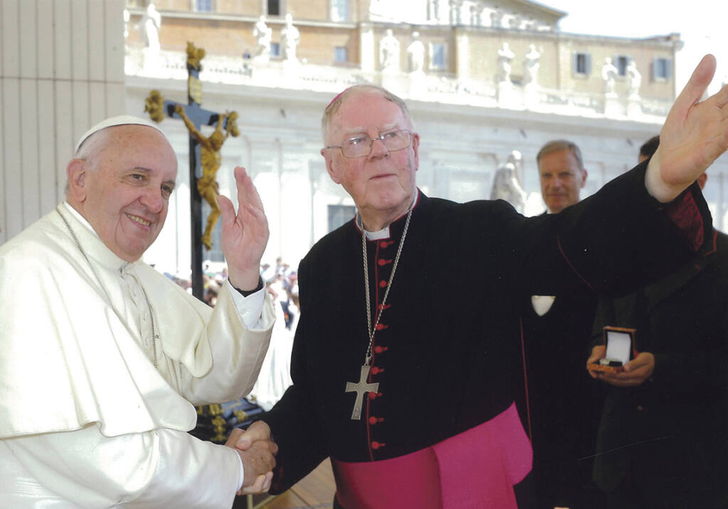 Bishop Owen Dolan's 25th anniversary celebrated Archdiocese of Wellington