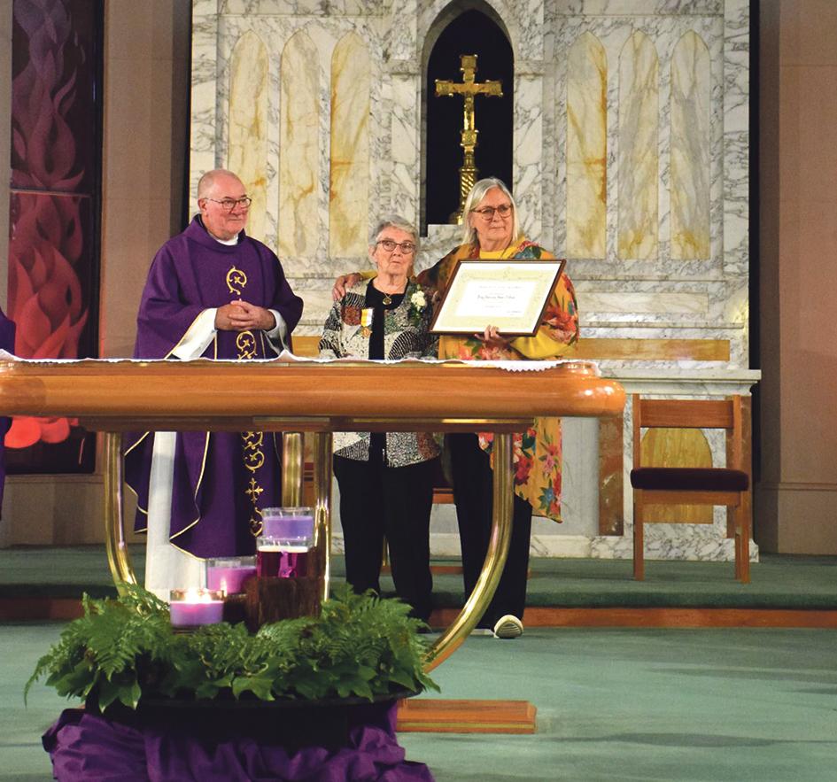 Papal medal for Vinnies volunteer Archdiocese of Wellington