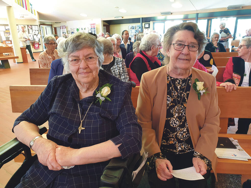 Mission Sisters Jubilees in Napier Archdiocese of Wellington