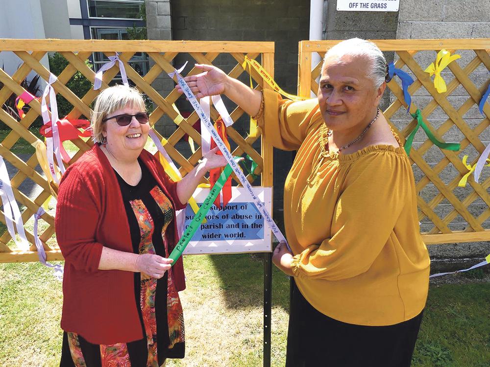 'Loud Fence' trellises Archdiocese of Wellington