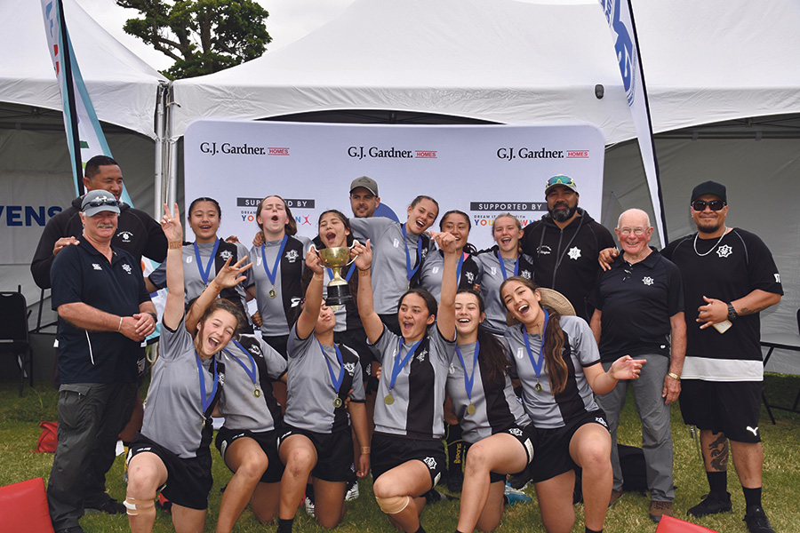 St Mary's national U15 Sevens champions Archdiocese of Wellington