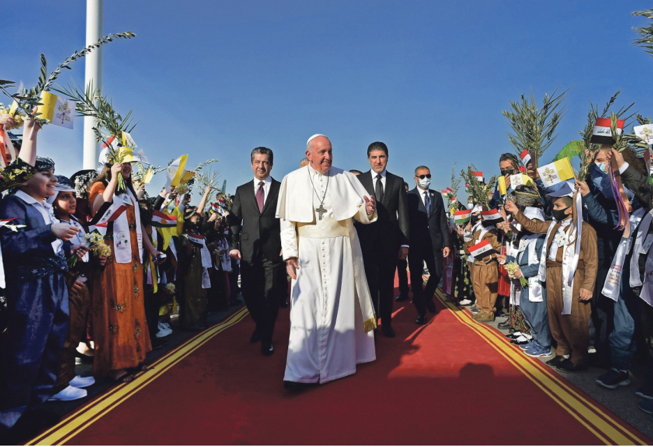 Pope's peace pilgrimage to Iraq Archdiocese of Wellington