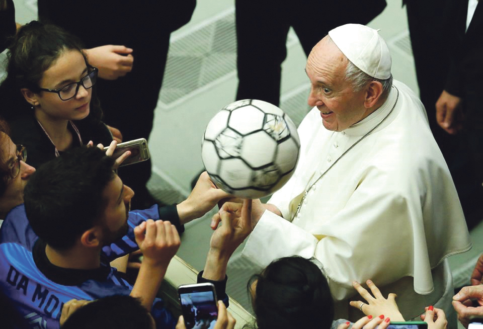 Future encyclical on sport? Archdiocese of Wellington