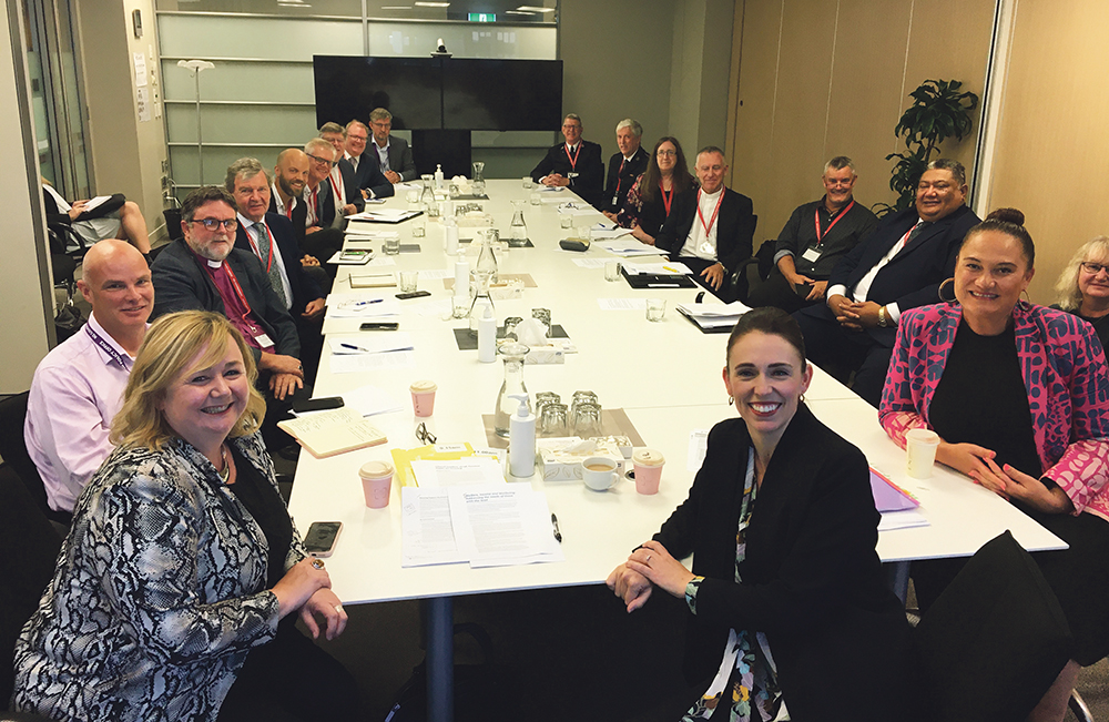 Church leaders meet Prime Minister to talk vaccines, housing, poverty Archdiocese of Wellington