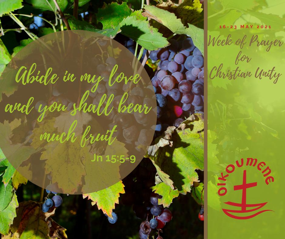 Week of Prayer for Christian Unity – Te Wiki o ngā Īnoinga mō te Kotahitanga  o te Hunga Karaitiana Archdiocese of Wellington