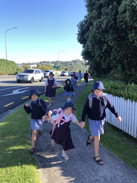 Caritas Challenge at St Theresa's Archdiocese of Wellington